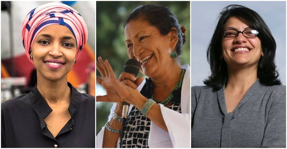 The First Muslim and Native American women were just elected to Congress.