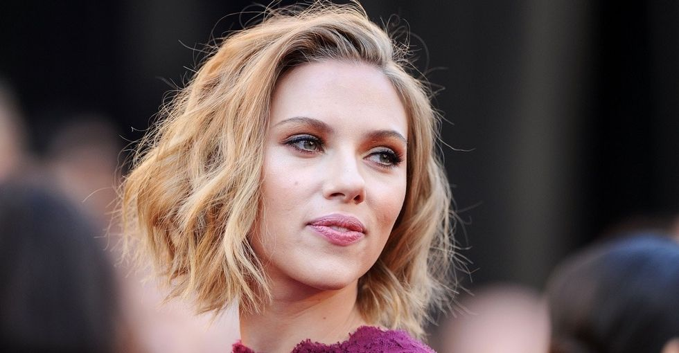 Why Scarlett Johansson is 'thankful' for the debate that led her to drop out of a movie.