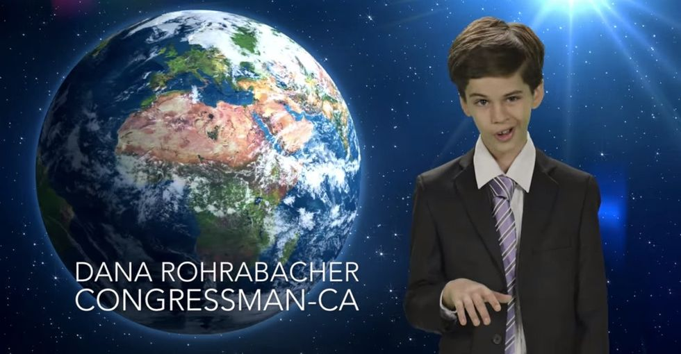 Stop Everything And Watch These Kids Publicly Shame Politicians Who Don't Believe Science Is Real