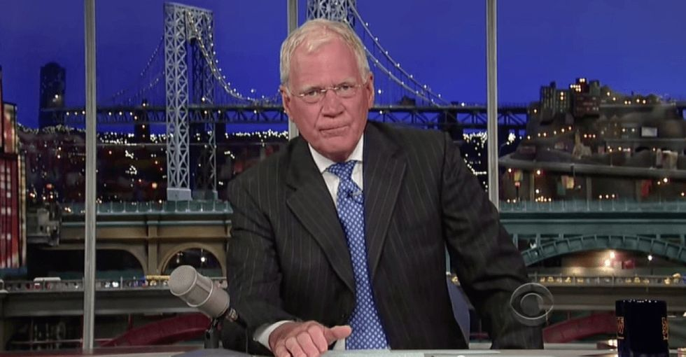 Remember that time David Letterman went off on oil and gas companies? That was awesome.