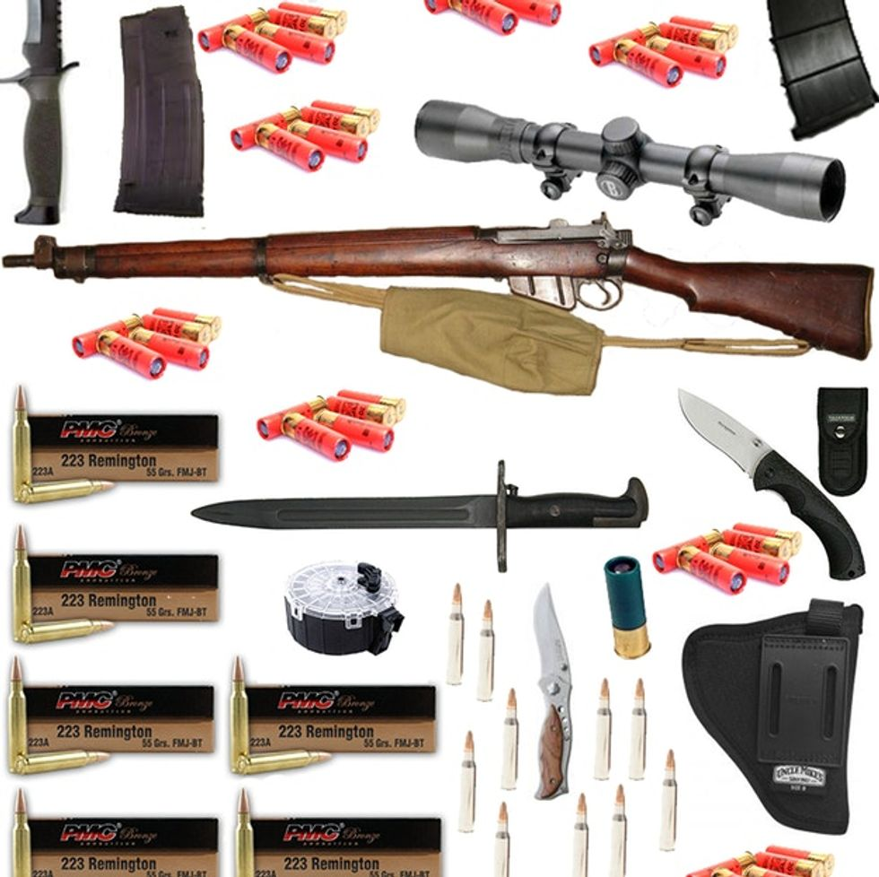 This Graphic Of Adam Lanza's Home Arsenal Is Devastating