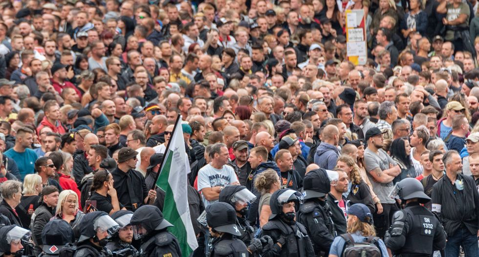 A group of clever German artists tricked some clueless neo-Nazis into outing themselves.