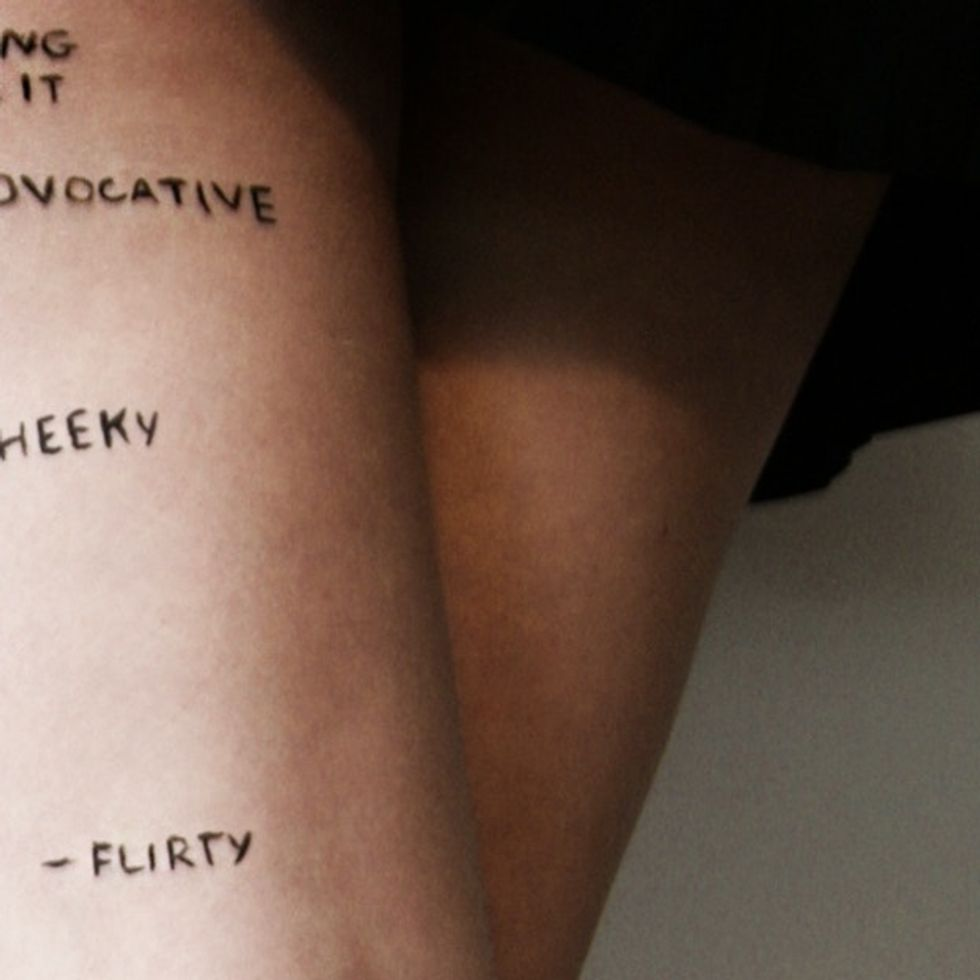The Tattoo That Misogynist Jerks Think Every Girl Has On Her Thighs