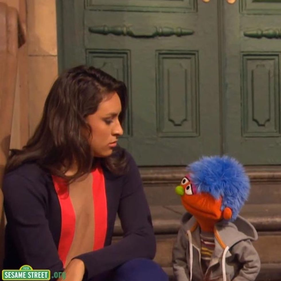 I Never Thought I'd See Something So Hard-Core On Sesame Street's Lesson Plan