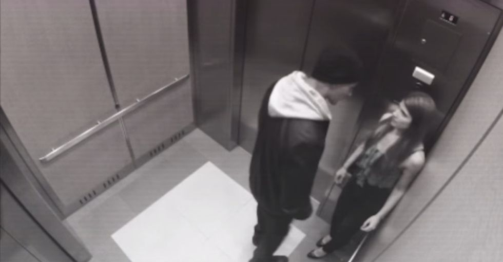 Watch This Elevator Video To The Very End. I'm Glad I Did.