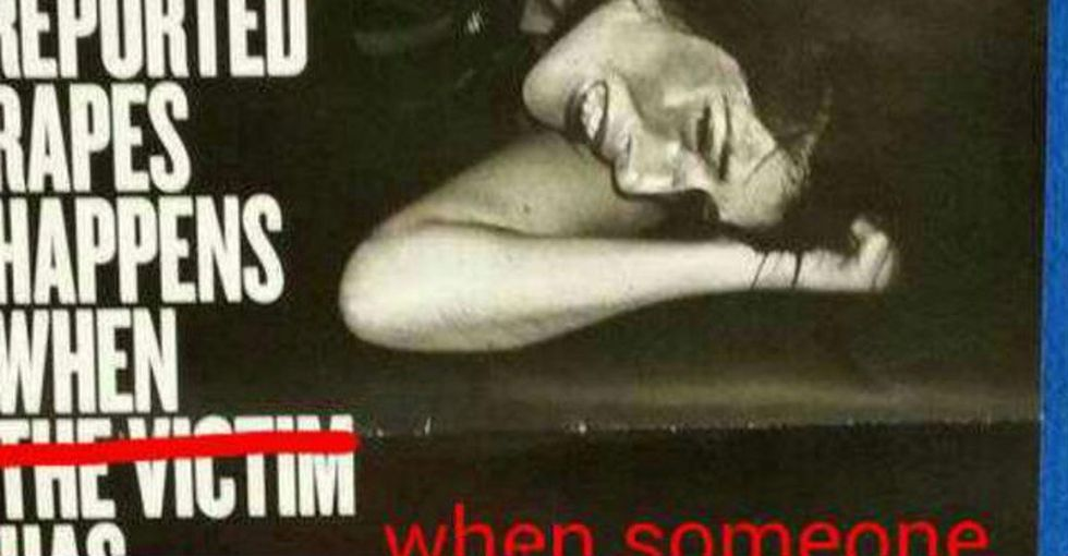 Tone-Deaf Anti-Rape Poster Gets Ingenious Makeover By This Week's Internet Hero