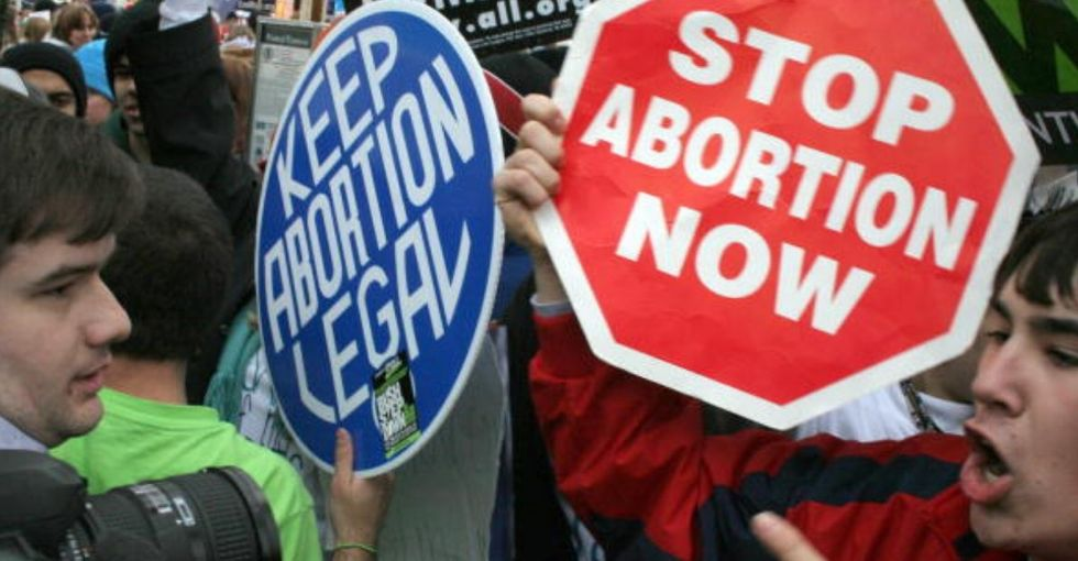 It is possible to be morally pro-life and politically pro-choice at the same time.