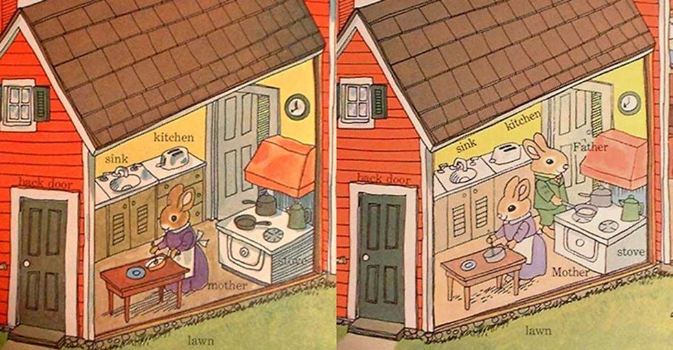 8 changes that were made to a classic Richard Scarry book to keep up with the times. Progress!