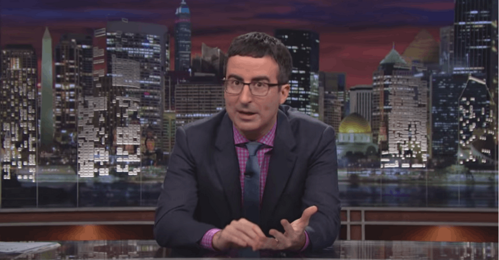 John Oliver Is Begging You To Lie To Your Friends About Where You Went On Vacation