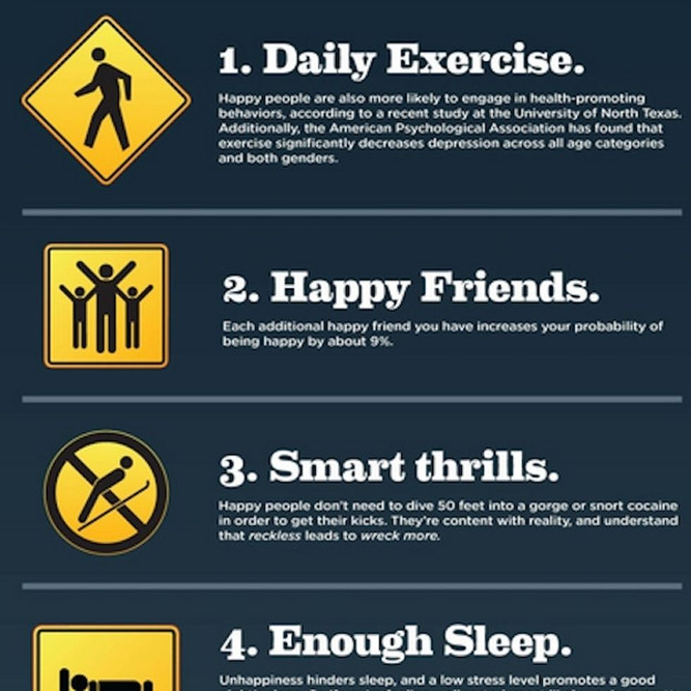 The Key To Happiness In 30 Seconds