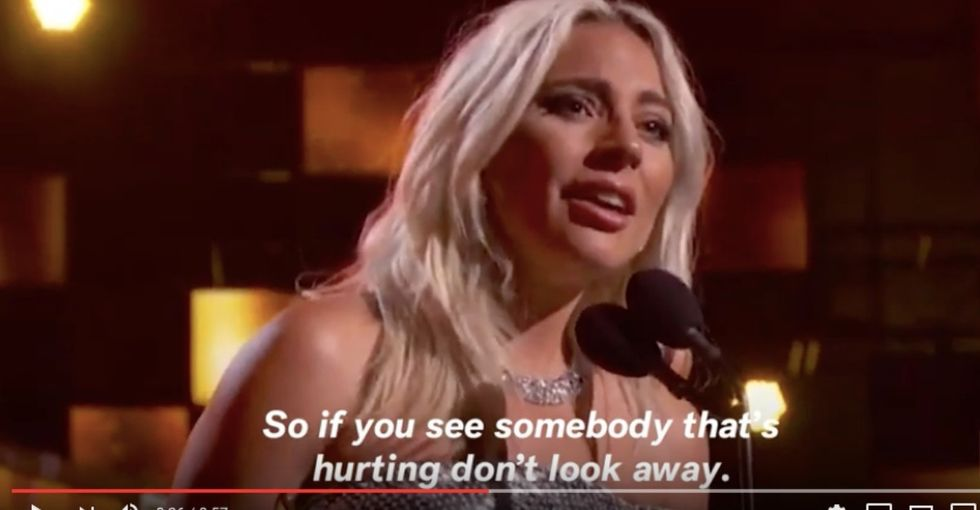 Lady Gaga gave an emotional Grammys speech about mental health we all need to hear.