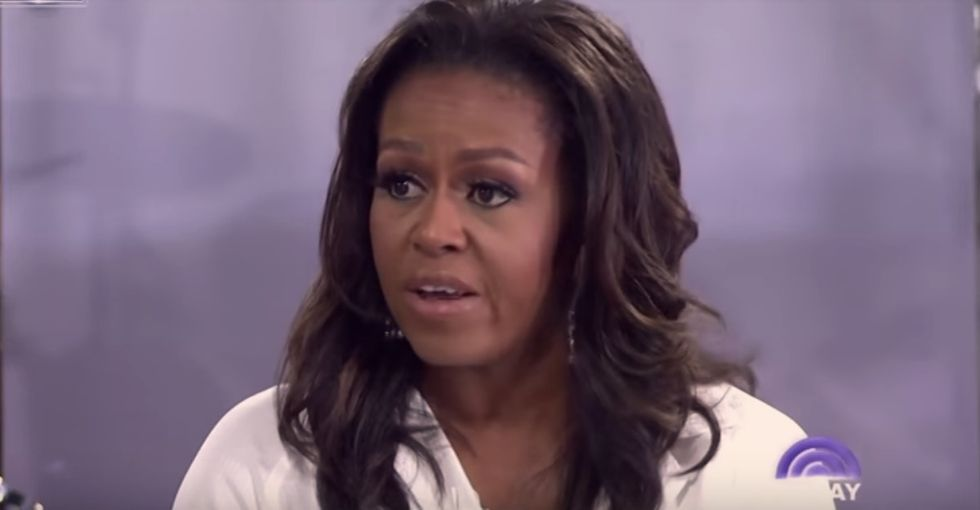 In a powerful new interview, Michelle Obama says young women are 'tired of being disregarded.'