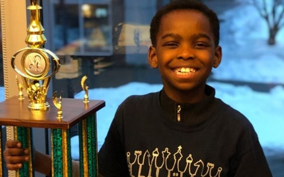 This eight-year-old homeless, refugee chess champion now has a place to live. And so much more.