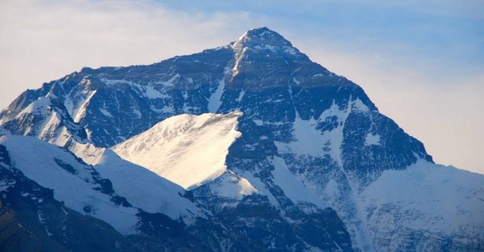 Climate change has led to a chilling discovery on Mount Everest.