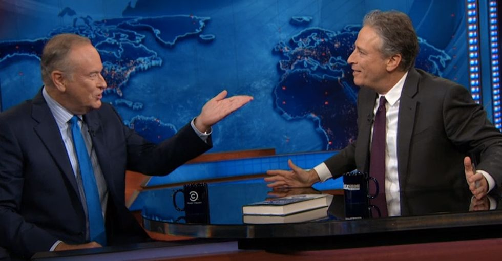A Historic 'Daily Show' Moment That Jon Stewart Almost Can't Believe But Gives Me A Little Hope