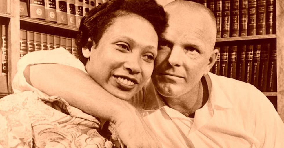 50 years ago, they went to prison for marrying each other. Here's their story.