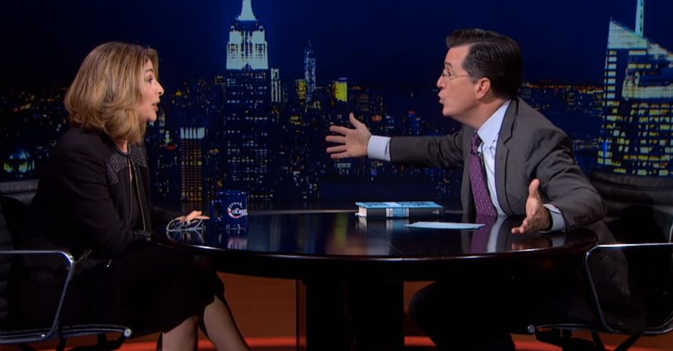 I've Never Heard Anyone Insult Colbert So Deeply That He Tells Them To Shut Up