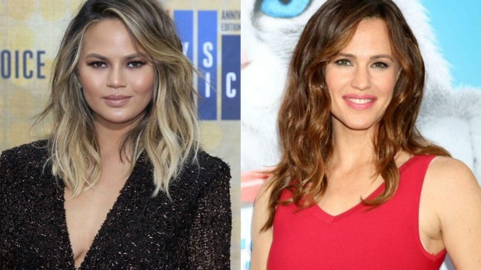 Jennifer Garner and Chrissy Teigen's 'feud' over a nanny gets worse when the nanny weighs in.