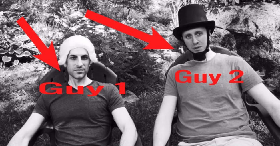 2 Guys In Bad Costumes Want To Build An App That Could Change The Course Of History. Worth A Try.