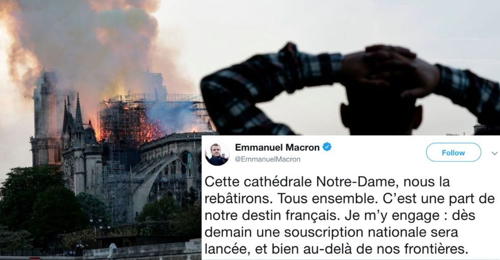 Hundreds of millions of dollars have already been pledged to rebuild Notre Dame. It's only half the battle.