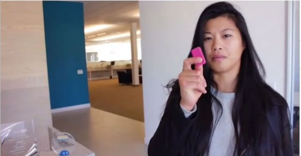 See a woman explain one of the most unfair things about being a woman — in only 15 seconds.