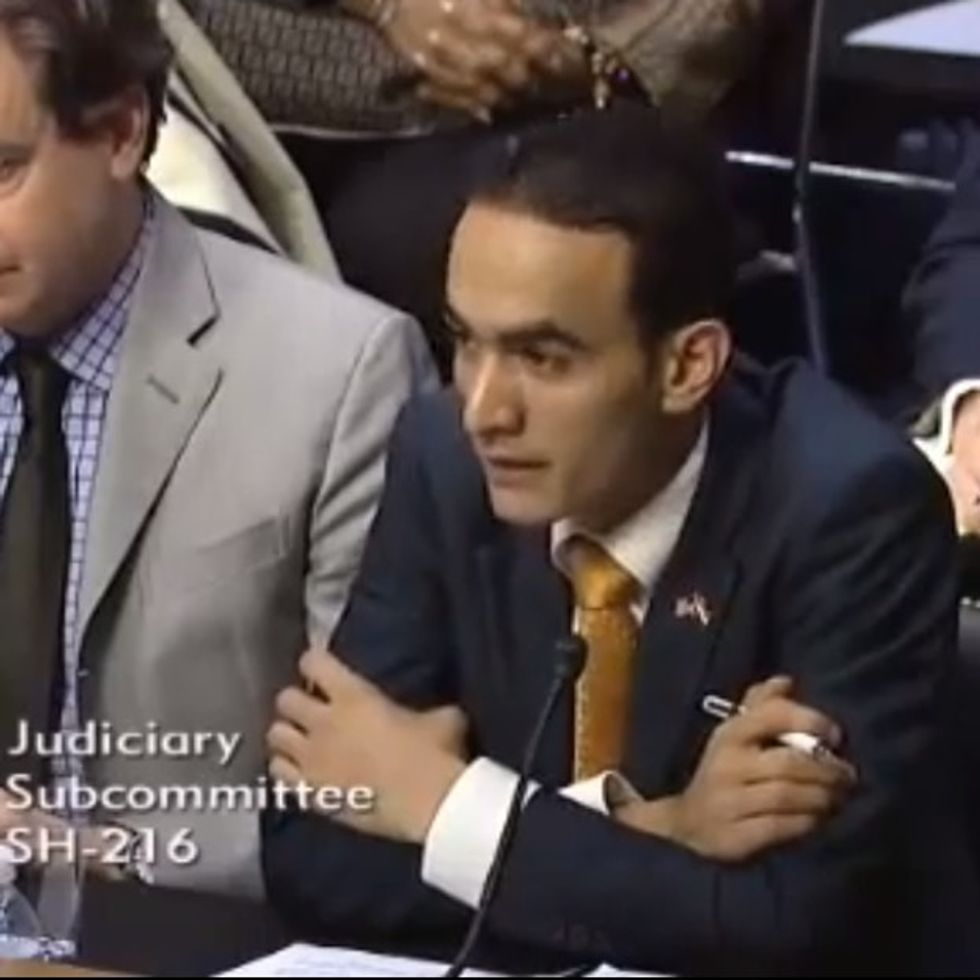 This Man Tells A Senate Subcommittee About Al-Qaeda's Best Recruiting Technique. It Will Shock You.