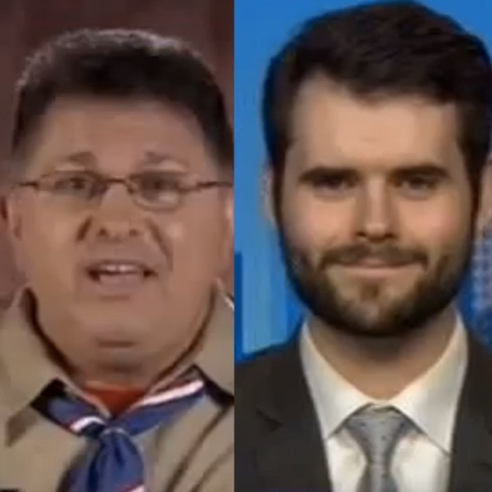An Anti-Gay Scoutmaster Gets A Hard Life Lesson From A Straight Eagle Scout And A Gay News Anchor