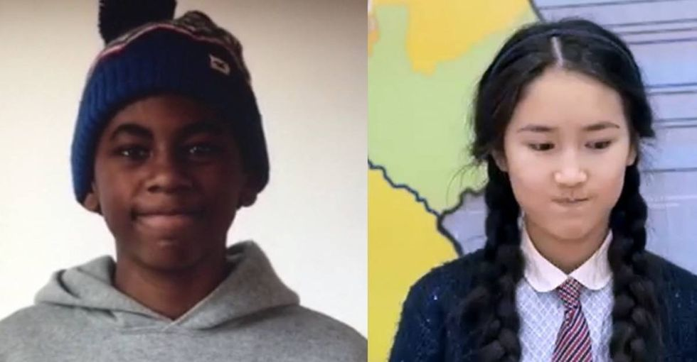 A boy in America explains to a girl on the other side of the globe how racism feels.