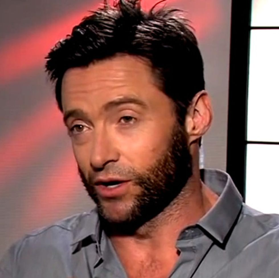 Move Over, Robin Thicke. Hugh Jackman Is Saying Something Important About Lines.