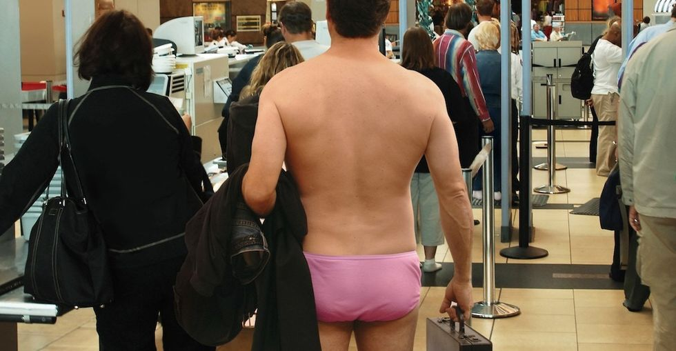 One way the TSA scans us at airports is about to be tried in court.