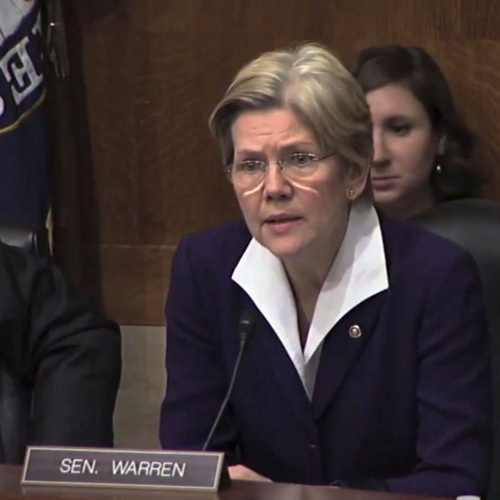 Elizabeth Warren has a new idea that'll make you swoon.