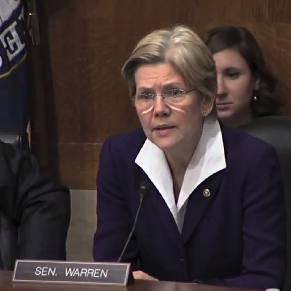 Elizabeth Warren has a new idea that'll make you swoon.