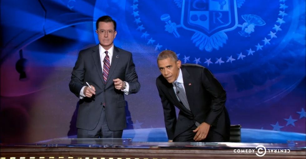 Colbert Just Lost Control Of His Show, And You'll Wanna Watch His Fill-In