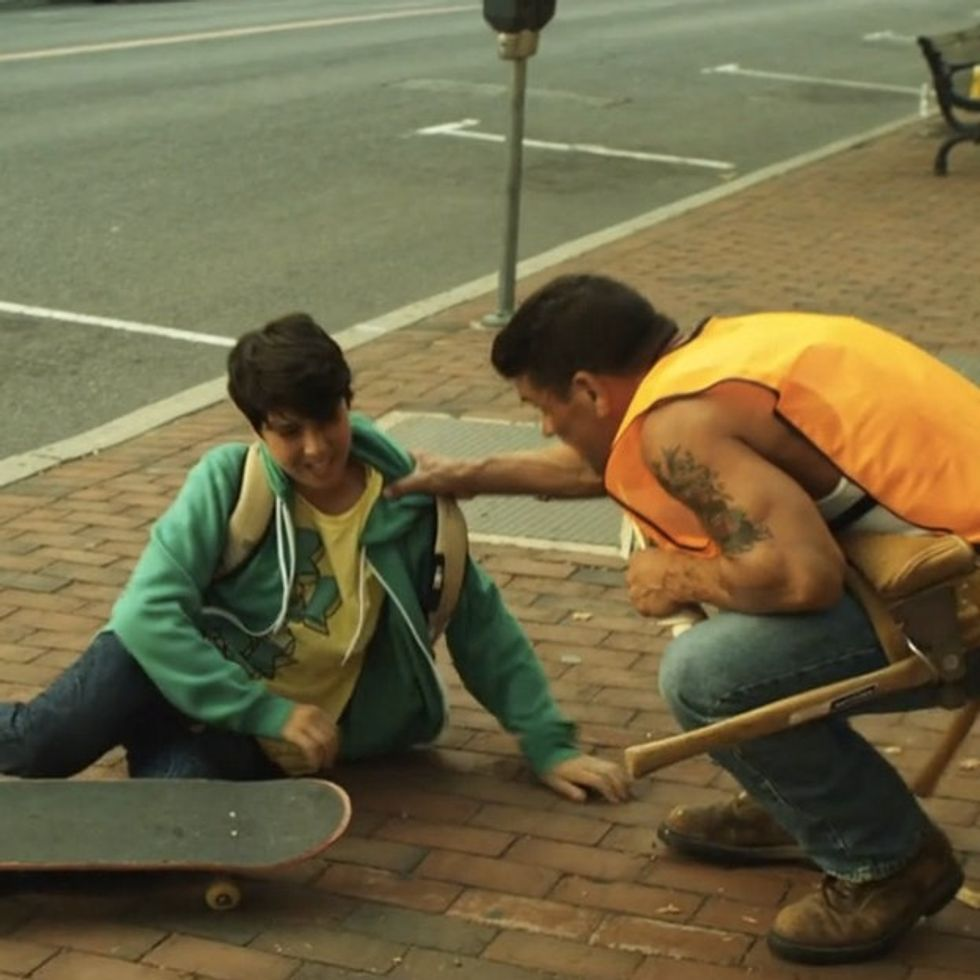 A Kid Wipes Out On His Skateboard And The World Is WAY Better Off For It