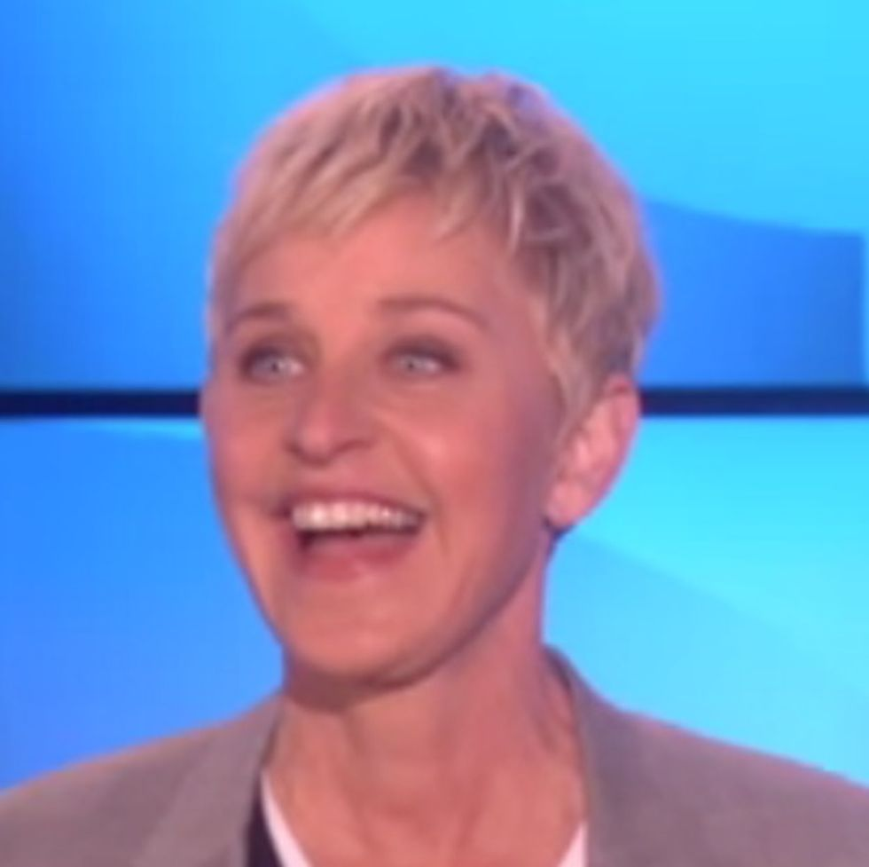 Ellen Pushes Her Homosexual Values On America: Kindess, Respect, & Equality. Ew.
