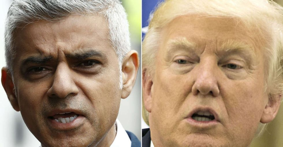 Trump can't stop distorting what London's mayor says about terrorism. There's a reason.