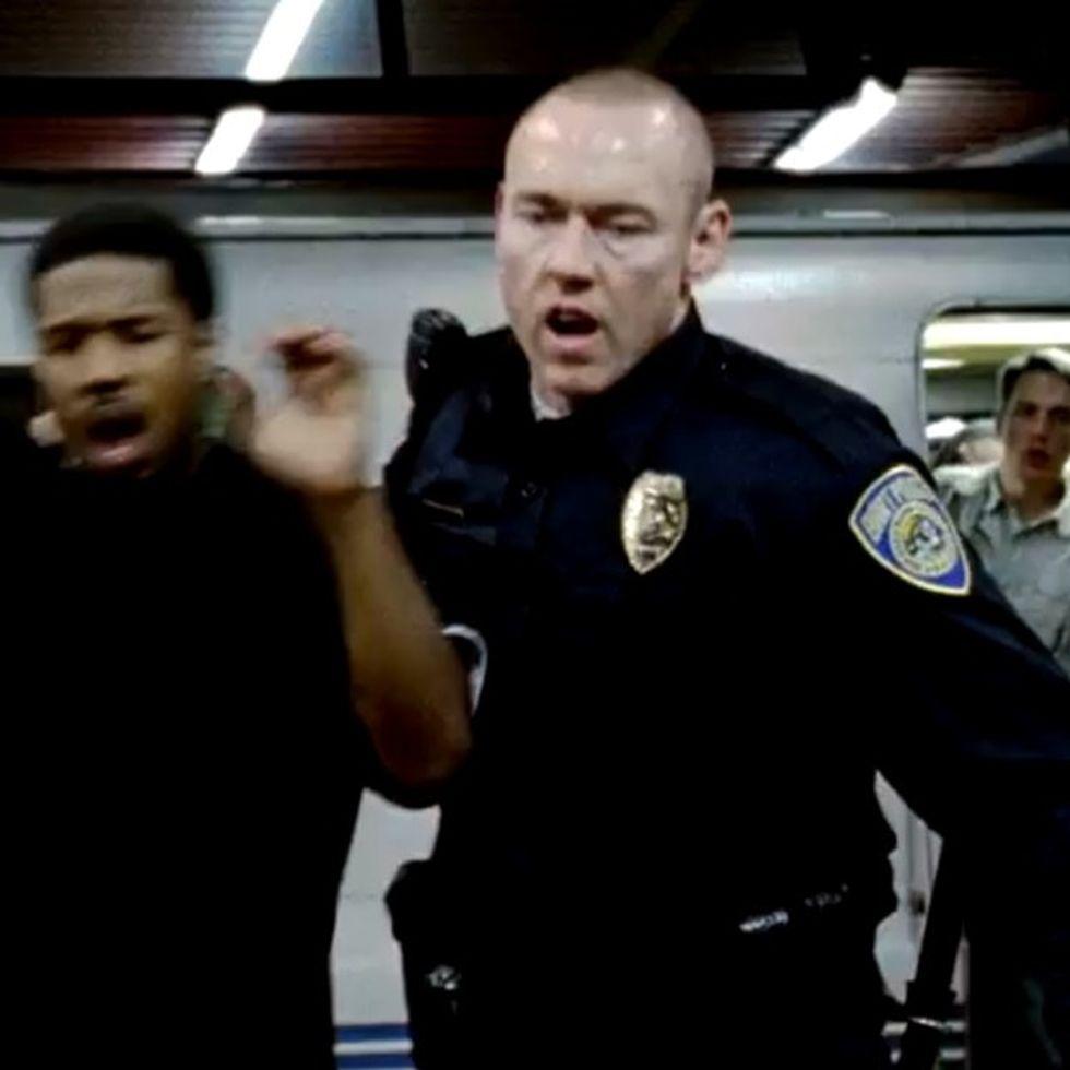Before #BlackLivesMatter, A Cop Held A Young Black Man Down On A Subway Platform And Shot Him Dead