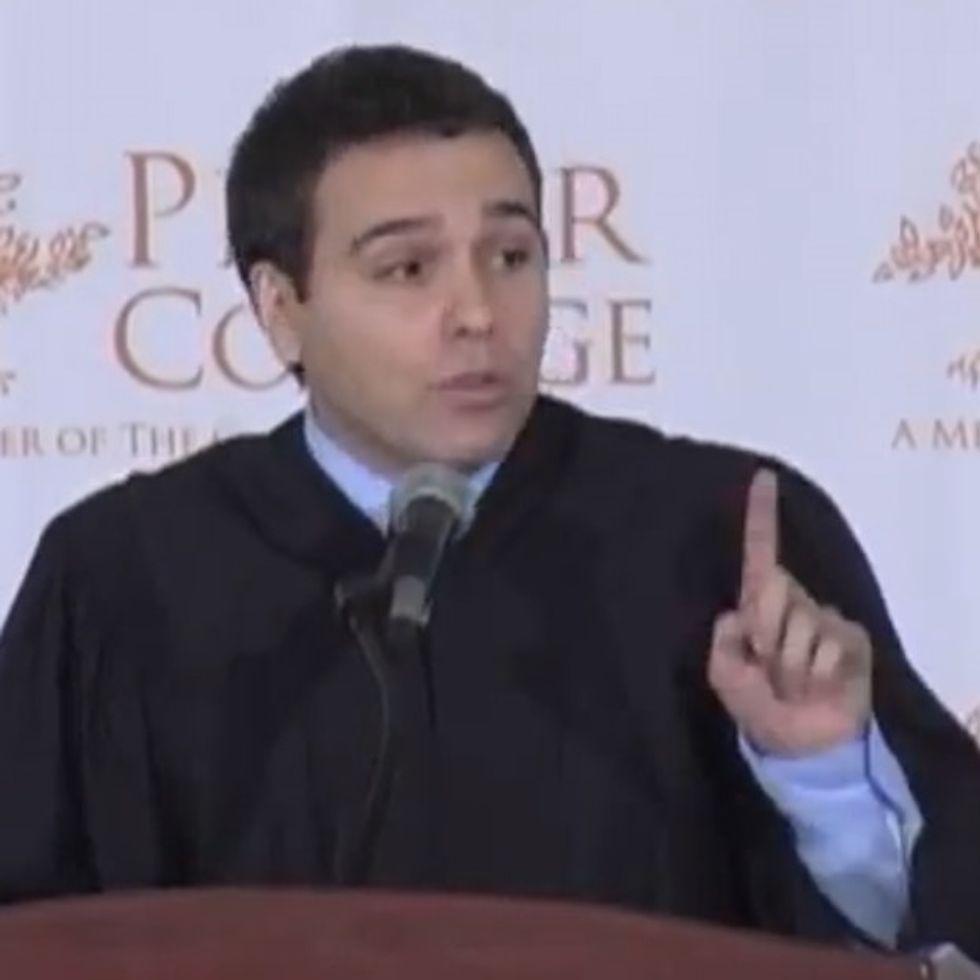 Obama's Speechwriter/Stand-Up Comedian Gives A Graduation Speech. Not Surprisingly, It's Badass.