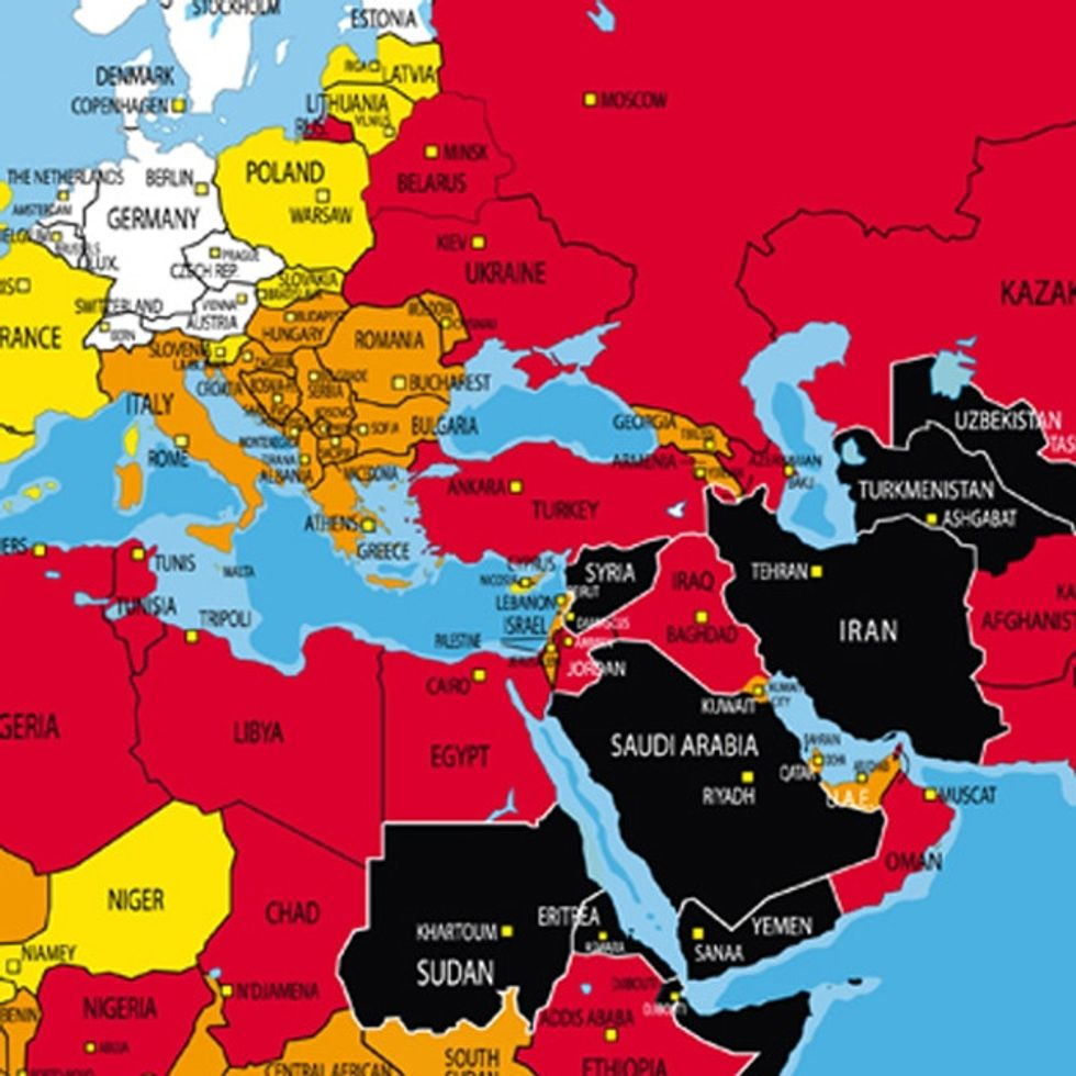Wow. I bet this map would be banned in some countries.