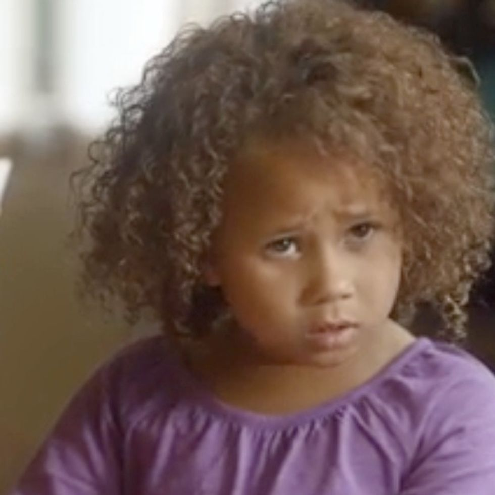 They are hating on this little girl's family. It's time to get mad, Internet.