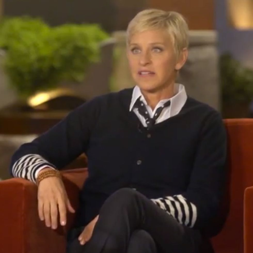 Ellen Talks About The Best Thing That Ever Happened To Her, Which Coincidentally Was Also The Worst