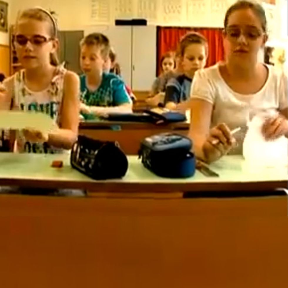 Elementary Class Solves One Of The World's Biggest Mysteries In 10 Minutes