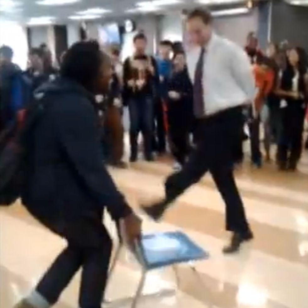 Every Teacher Should Take Down An Unruly Student This Way