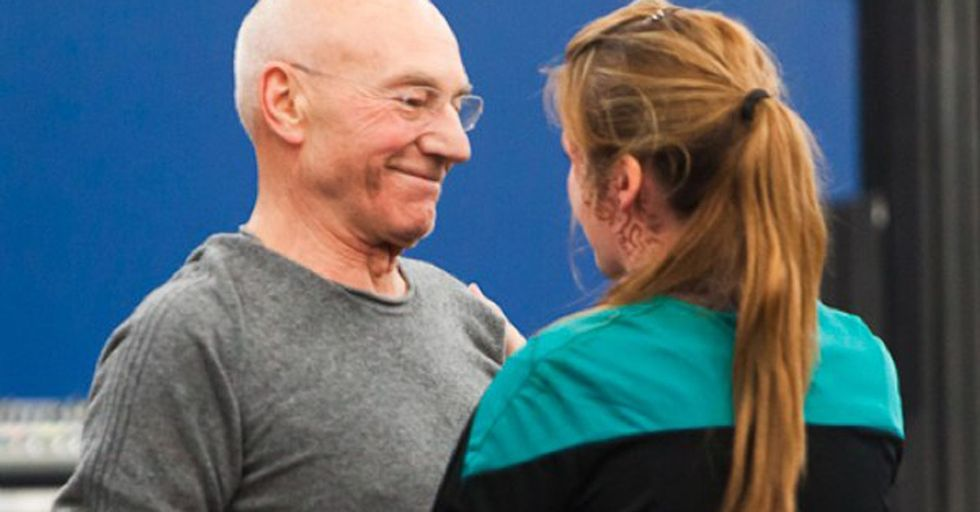 A Brave Fan Asks Patrick Stewart A Question He Doesn't Usually Get And Is Given A Beautiful Answer