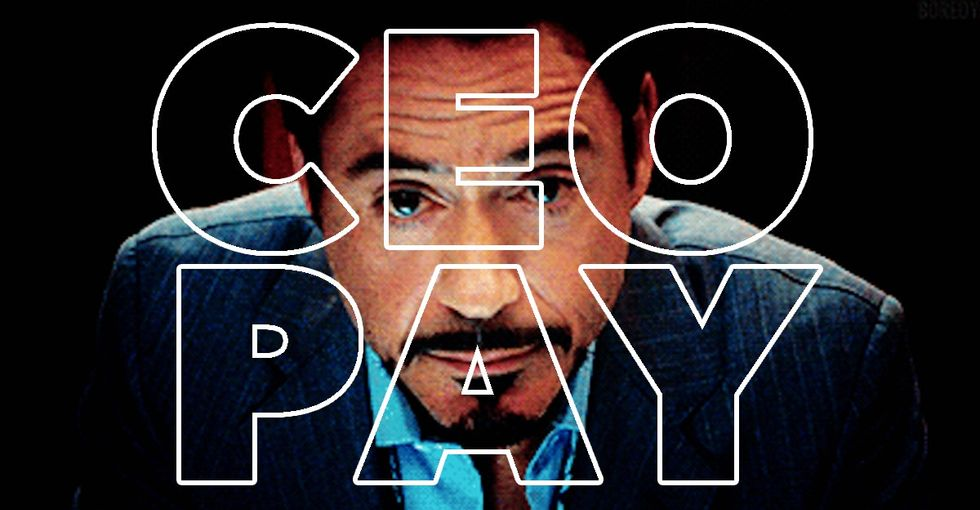 There's no easy way to talk about CEO pay. But Tony Stark GIFs are a good start.