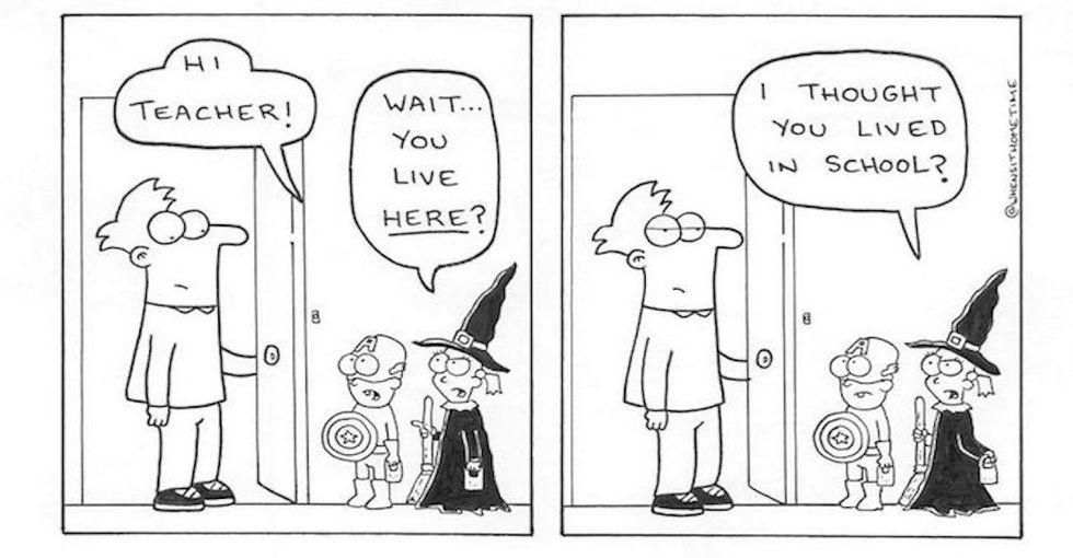 10 hilarious teacher comics every teacher can relate to.
