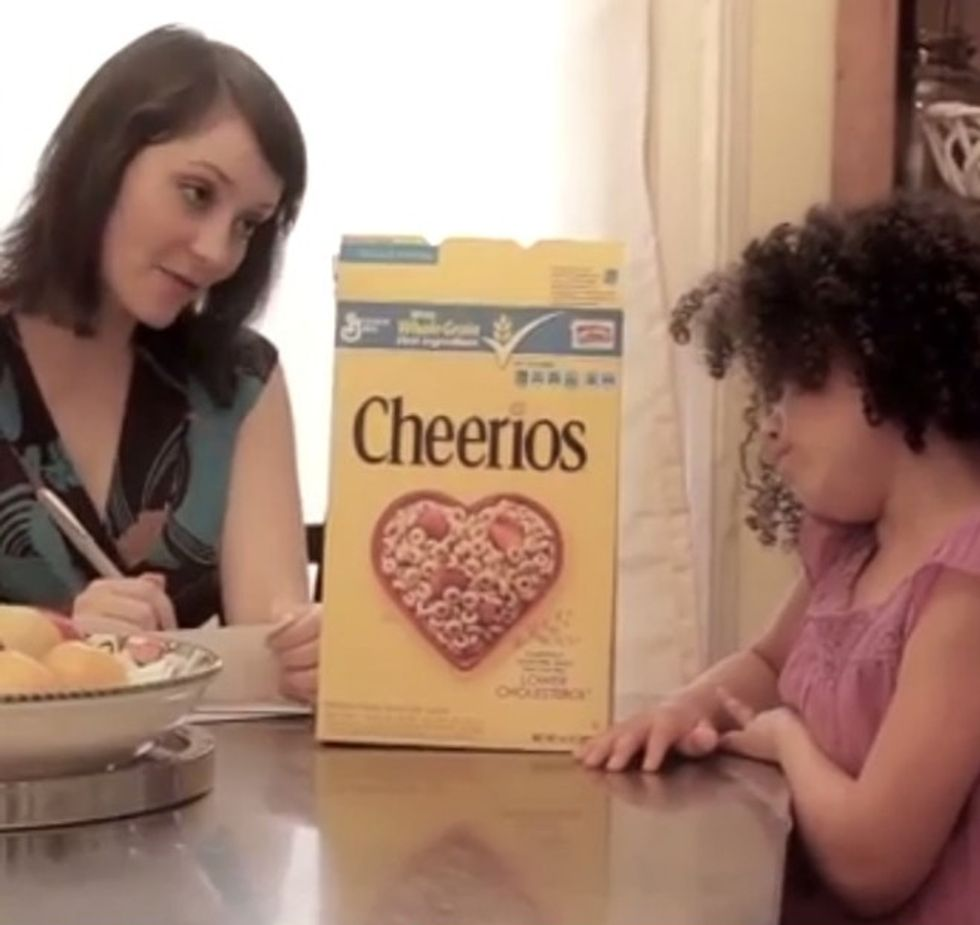 That Cheerios Commercial Just Got Even Better