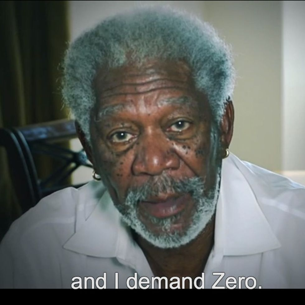 We Both Know You'll Listen To Morgan Freeman Say Anything, So Spare Us The Denial And Watch This