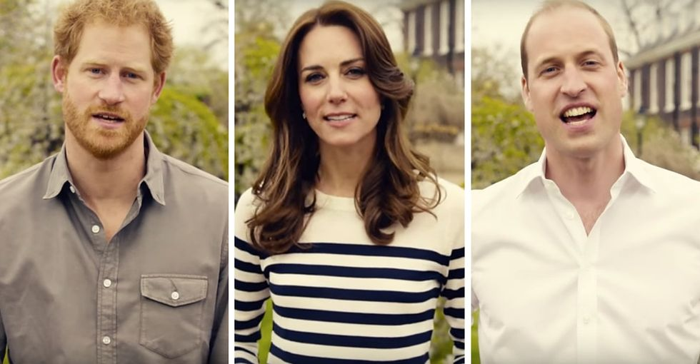 The royal family's charming PSA on mental health is a must-watch.