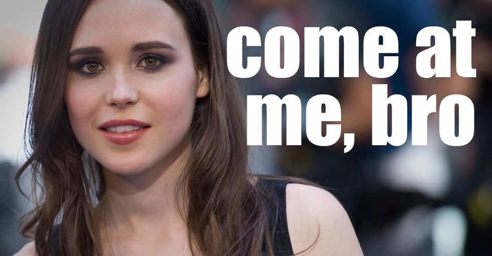 Ellen Page's Response To A Stranger Who Wanted To 'Save' Her 'Struggling' Soul Is Pretty Funny